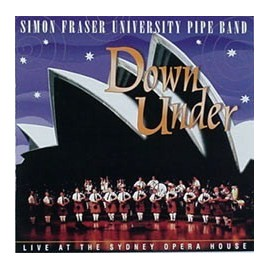 Simon Fraser University Pipe Band - Down under
