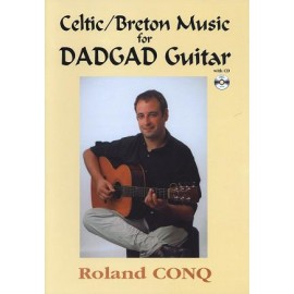 Celtic / Breton music for Dadgad guitar (+ CD)