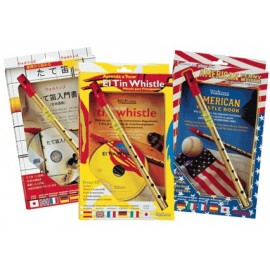 Pack tin whistle en Ré - Multi langues