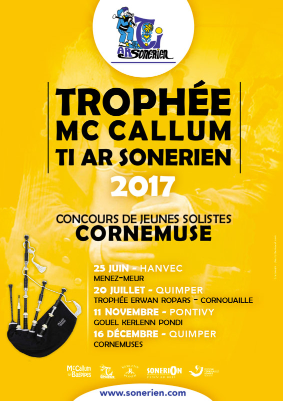 Trophée McCallum - Ti ar Sonerien 2017