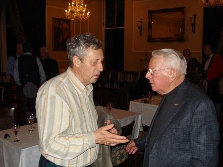 Jakez Pincet et Jimmy McIntosh en 2007 à Pitlochry