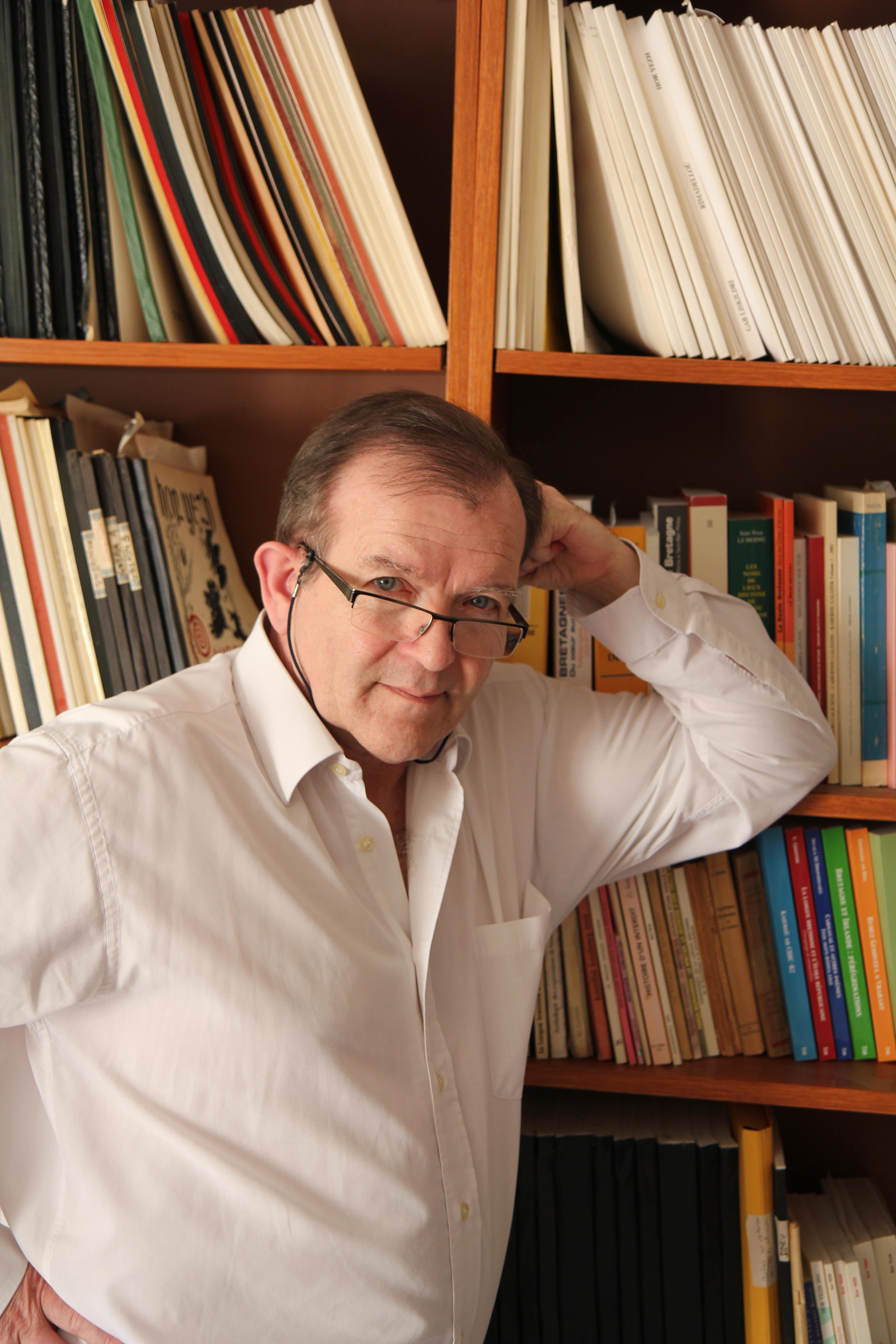 Martial Ménard (crédit Henri Belbeoc'h)