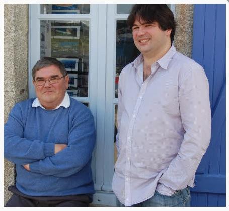 Xavier et Yann Pelliet en 2009