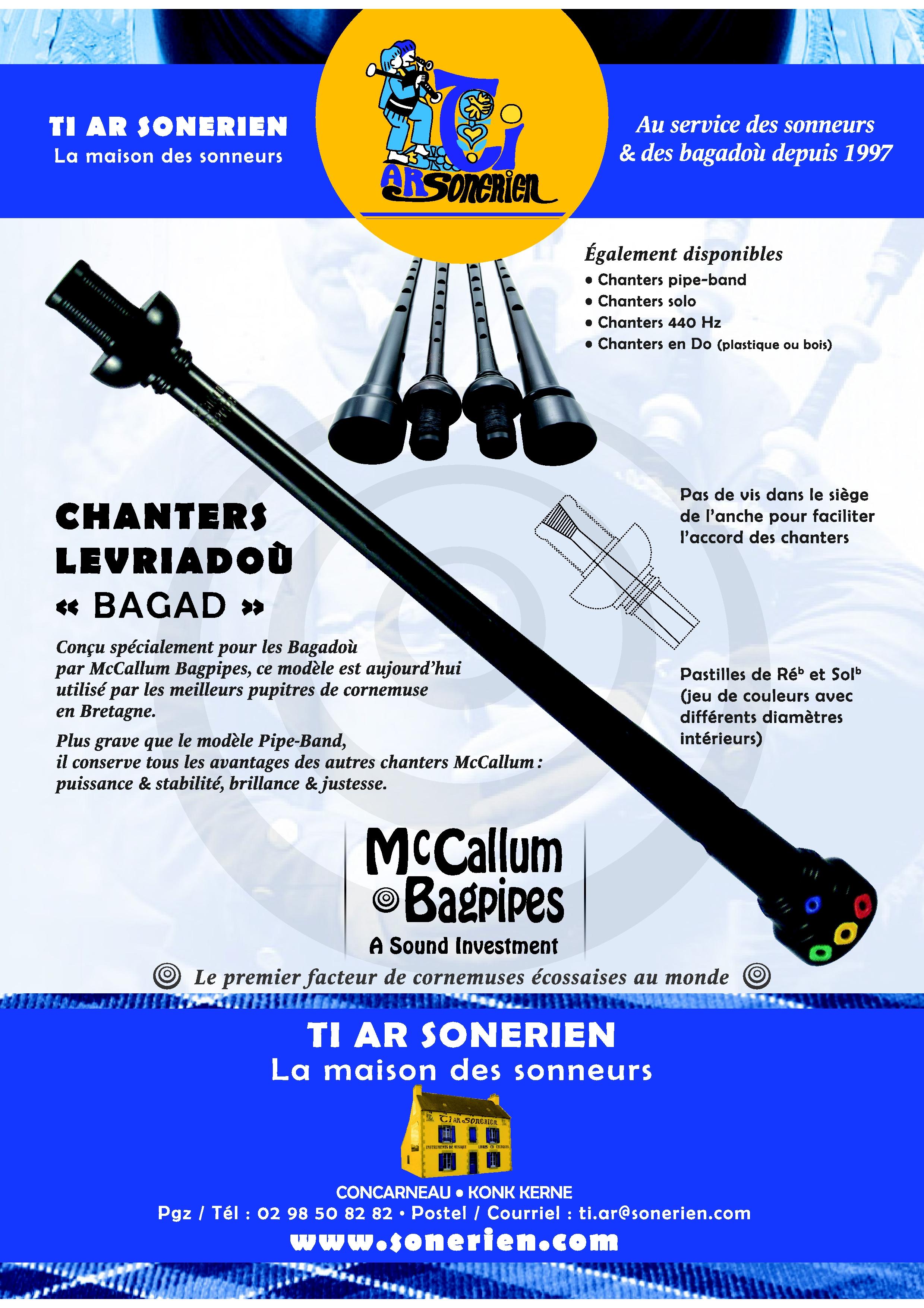 Chanters Bagad McCallum